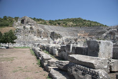 Alte Stadt von Ephesus. Die Türkei Lizenzfreies Stockbild