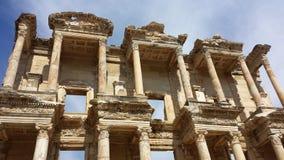 Alte Stadt von Ephesus, die Türkei Lizenzfreies Stockfoto