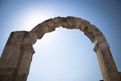 Alte Stadt von Ephesus. Die Türkei Stockfotografie