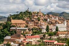 Alte Stadt von Fianarantsoa Lizenzfreies Stockbild