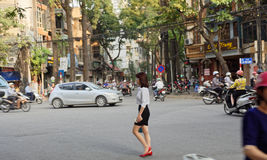 Alte Stadt von Hanoi Vietnam Lizenzfreies Stockbild
