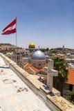 Alte Stadt von Jerusalem lizenzfreie stockbilder