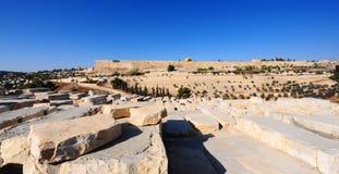 Alte Stadt von Jerusalem Lizenzfreie Stockfotos