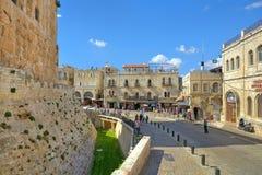 Alte Stadt von Jerusalem, Israel. Stockbild