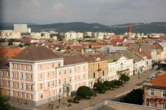 Alte Stadt von Kosice, Slowakei Stockbilder