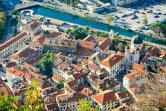 Alte Stadt von Kotor Stockbild