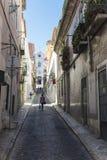 Alte Stadt von Lissabon Lizenzfreie Stockfotografie