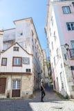 Alte Stadt von Lissabon Stockfoto