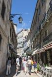 Alte Stadt von Lissabon Lizenzfreie Stockfotos