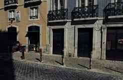 Alte Stadt von Lissabon, Portugal stockfotografie
