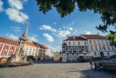 Alte Stadt von Mikulov Lizenzfreies Stockbild