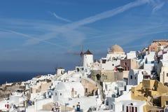 Alte Stadt von Oia auf der Insel Santorini Lizenzfreie Stockbilder