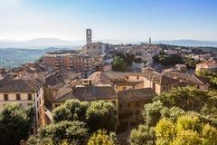 Alte Stadt von Perugia, Umbrien, Italien Lizenzfreie Stockfotografie