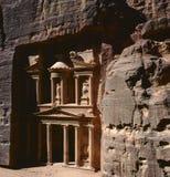 Alte Stadt von PETRA, Jordanien Stockbild
