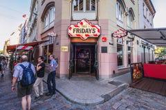 Alte Stadt von Riga Lizenzfreies Stockbild