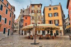 Alte Stadt von Rovinj, Kroatien Lizenzfreie Stockbilder