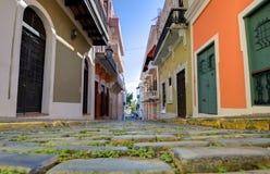 Alte Stadt von San Juan Lizenzfreie Stockfotos