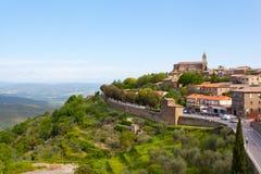Alte Stadt von Siena Stockbilder