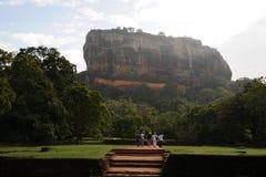 Alte Stadt von Sigiriya in Sri Lanka Stockbild