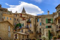 Alte Stadt von Sisteron in Provence Lizenzfreies Stockbild