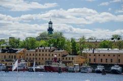 Alte Stadt von Stockholm, Schweden Lizenzfreie Stockbilder