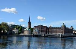 Alte Stadt von Stockholm, Schweden Lizenzfreies Stockfoto