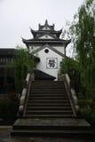 Alte Stadt von Taierzhuang lizenzfreie stockfotos