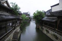 Alte Stadt von Taierzhuang lizenzfreie stockbilder