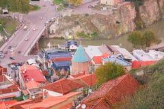 Alte Stadt von Tiflis Lizenzfreies Stockbild