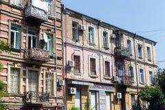 Alte Stadt von Tiflis, Georgia Lizenzfreie Stockfotografie
