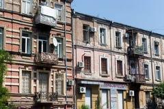 Alte Stadt von Tiflis, Georgia Stockfotografie