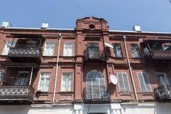 Alte Stadt von Tiflis, Georgia Lizenzfreie Stockfotos