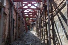 Alte Stadt von Tiflis, Georgia Lizenzfreies Stockfoto