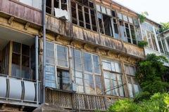 Alte Stadt von Tiflis, Georgia Stockfoto