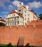 Alte Stadt von Warschau stockfotos