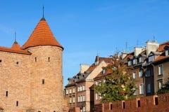 Alte Stadt von Warschau Lizenzfreie Stockfotografie