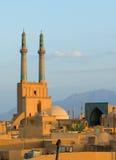 Alte Stadt von Yazd Lizenzfreie Stockfotos