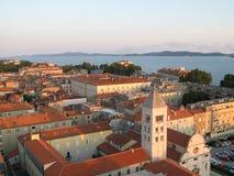 Alte Stadt von Zadar, adriatische Küste Lizenzfreie Stockbilder