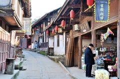 Alte Stadt von Zhouzi Lizenzfreie Stockfotografie