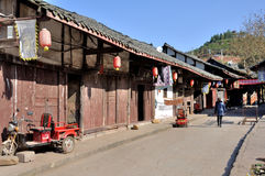 Alte Stadt von Zhouzi Stockfoto