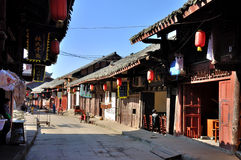 Alte Stadt von Zhouzi Stockfotografie