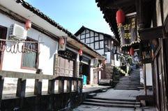 Alte Stadt von Zhouzi Stockbild