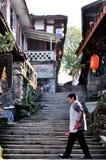 Alte Stadt von Zhouzi Stockbilder