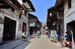 Alte Stadt von Zhouzi Lizenzfreies Stockfoto