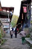 Alte Stadt von Zhouzi Lizenzfreie Stockfotos