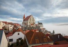 Alte Stadt von Znojmo, Süd-Moray, Tschechische Republik Lizenzfreie Stockbilder