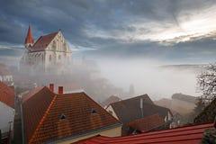 Alte Stadt von Znojmo, Süd-Moray, Tschechische Republik Lizenzfreies Stockbild