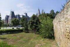 Alte Stadt-Wand Stockbild