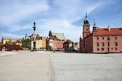 Alte Stadt in Warschau. Stockfotos
