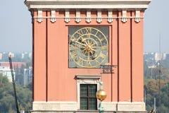 Alte Stadt in Warschau. Lizenzfreies Stockfoto